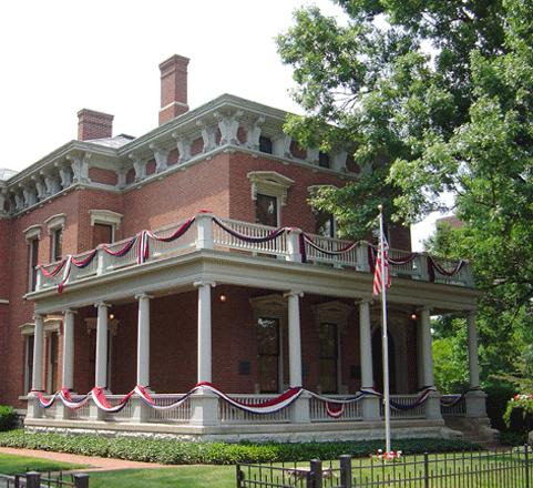 """Benjamin Harris Presidential home"""